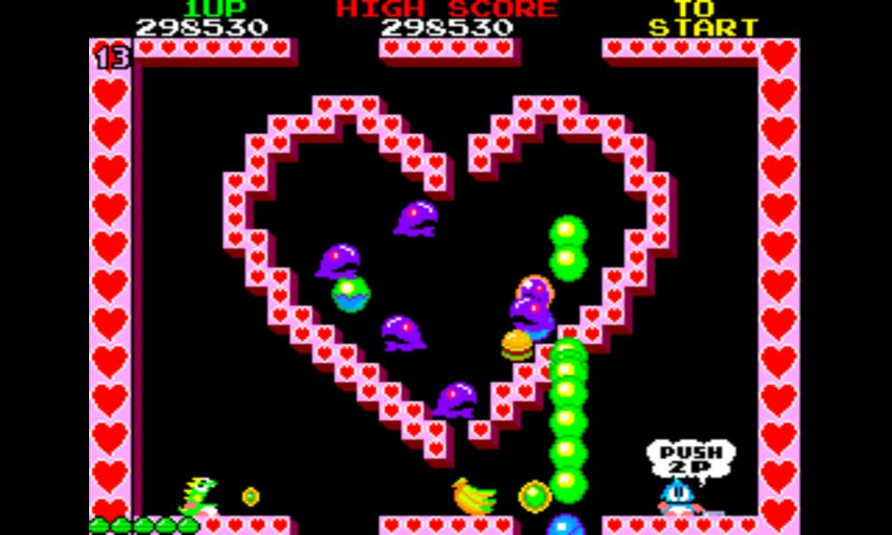 Bubble Bobble lvl 13