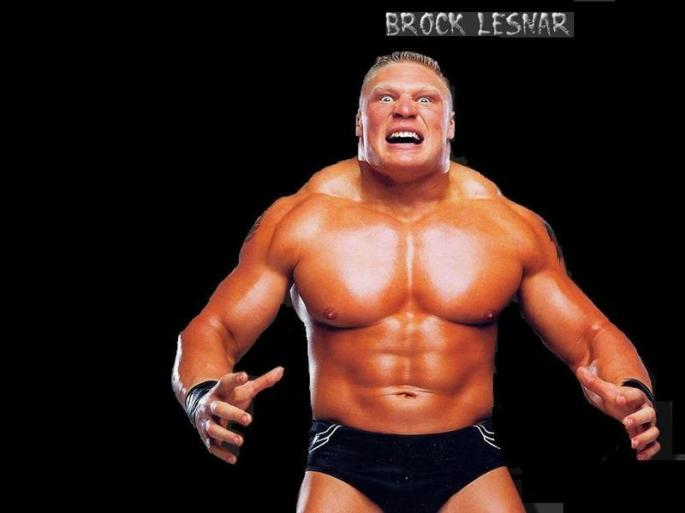 Brock Lesnar 2002 scary