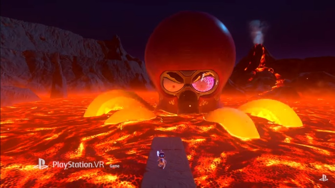 Astro Bot Octopus